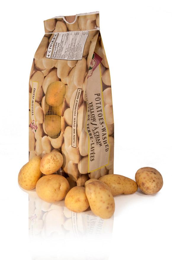 vaste gamme de mignon pas cher prix bas Sacs pommes de terre en papier | Emballage Coderre Inc