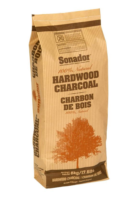 Sac à charbons de bois / Charcoal bag